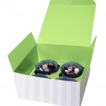 cup cakes låda 4 pack